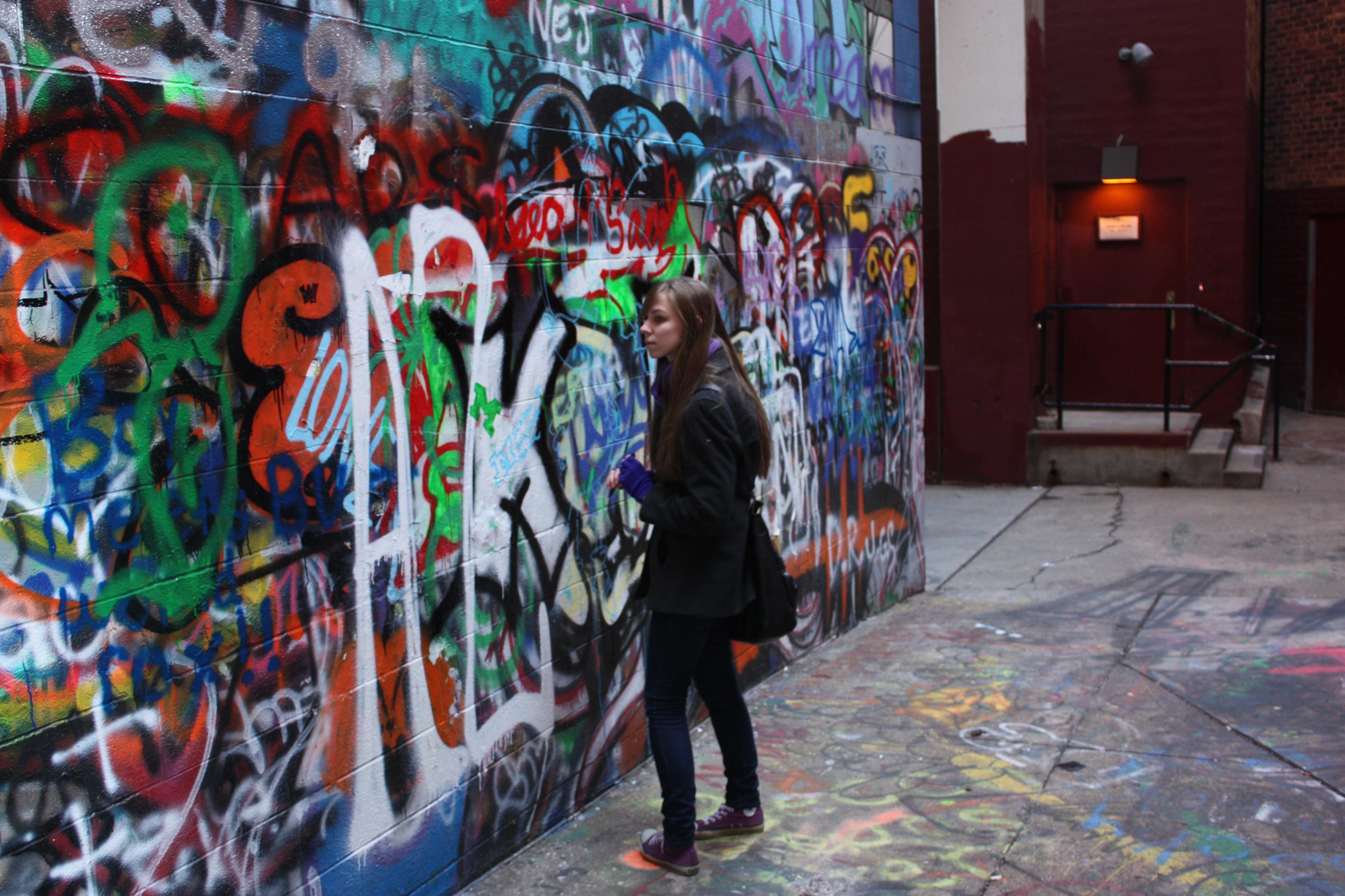 Graffiti wall ann arbor - Of
