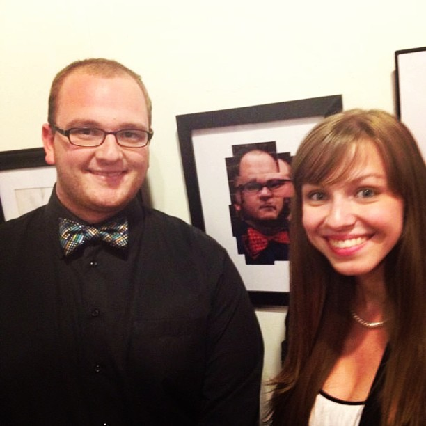 Standing_by_my_photograph_in_the_student_showcase_last_night_with_the_man_in_the_bowtie_himself_