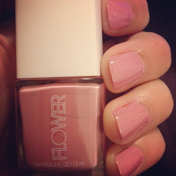 Trying_this_new_Flower_brand_nail_polish_from_Walmart_in_May_Flowers._Such_a_pretty_pink_